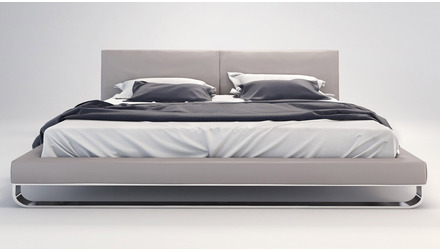 Lucca Bed - Grey