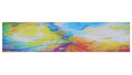 "Festival of Light II Canvas Art - 60"" x 14"""