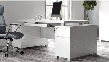 Ford Desk - White