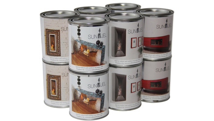 Gel Fuel Cans