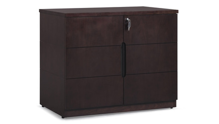 Hayes Cabinet Small - Dark Walnut