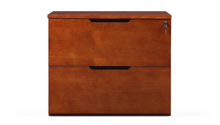 Hayes Lateral filing Cabinet - Light Walnut