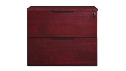 Hayes Lateral filing Cabinet - Mahogany
