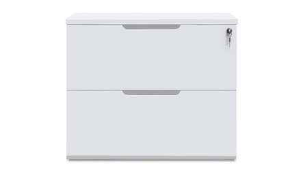 Hayes Lateral Filing Cabinet - White
