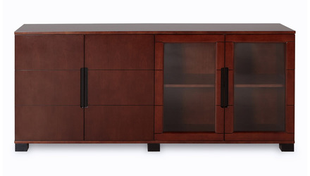 Hayes Cabinet - Light Walnut