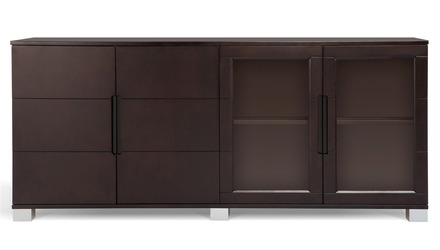 Hayes Cabinet - Dark Walnut