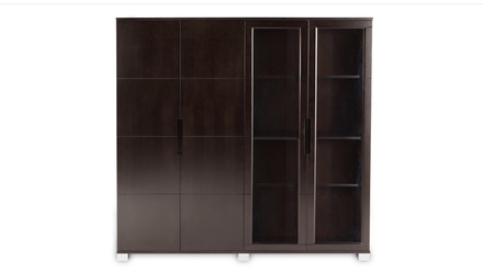 Hayes Storage Unit - Dark Walnut