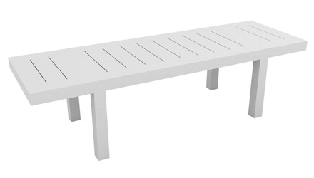 Jut 110 Inch Dining Table