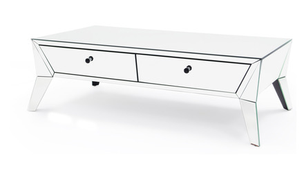 Lave Mirrored Coffee Table
