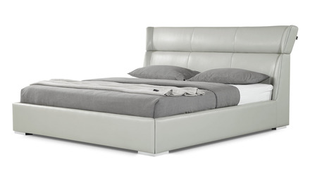 Hypnos Leather Bed