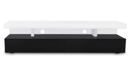 Mcintosh TV Stand - White and Black