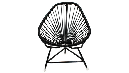 Micro-Acapulco Chair - Black Frame