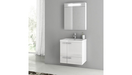 New Space 23 Inch Vanity Set with Medicine Cabinet
