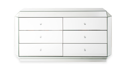 Deco Mirrored Accent Chest