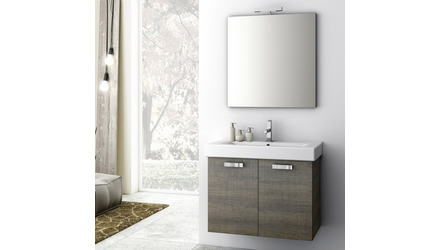 Cubical 30 Inch Vanity Set