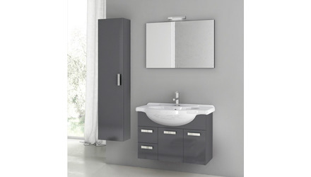 Phinex 32 Inch Vanity Set with Storage Cabinet