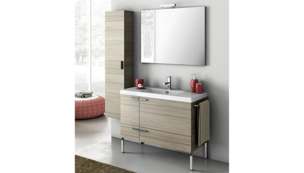 New Space 39 Inch Vanity Set with Storage Cabinet