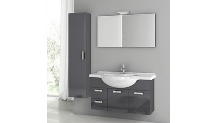 Phinex 39 Inch Vanity Set with Storage Cabinet