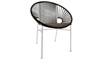 Concha Chair - White Frame