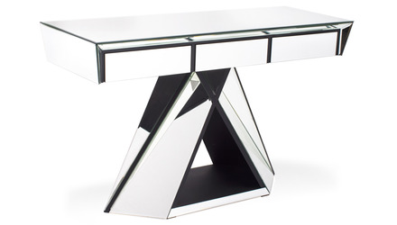 Bello Mirrored Console Table
