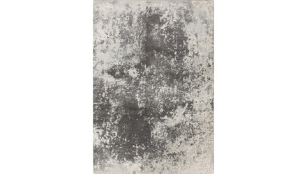 Rorschach Rug - Light Gray