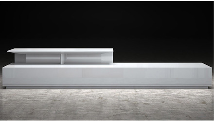 Accius Coffee Table - White Lacquer