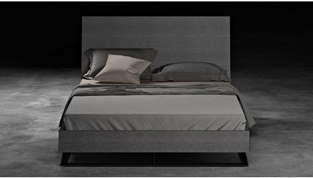 Adal Bed - Gray Oak