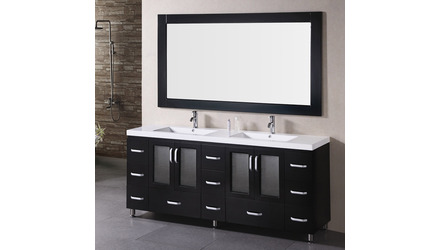 "Alexander 72"" Double Sink Vanity Set"