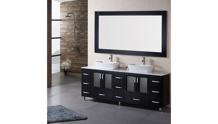 "Alexia 72"" Double Sink Vanity Set"