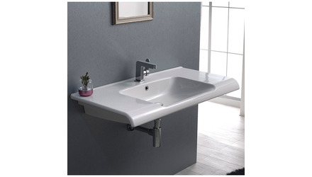 Anova Rectangle Ceramic 39 Inch Sink