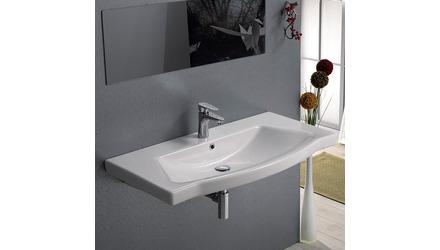 Argona Rectangle Ceramic 48 Inch Sink