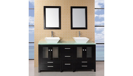 "Bellona 61"" Double Sink Vanity Set"