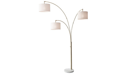 Bowery 3 Arm Arc Lamp