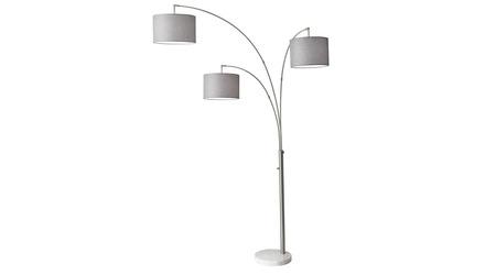 Bowery 3 Arm Arc Lamp