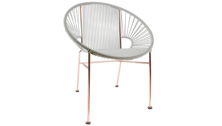 Concha Chair - Copper Frame