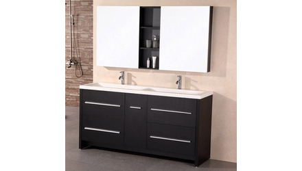 "Donovan 63"" Double Sink Vanity Set"