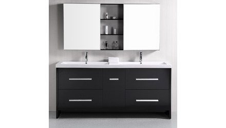 "Donovan 72"" Double Sink Vanity Set"