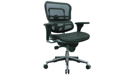 Ergo Human Mesh Swivel Chair California Mesh