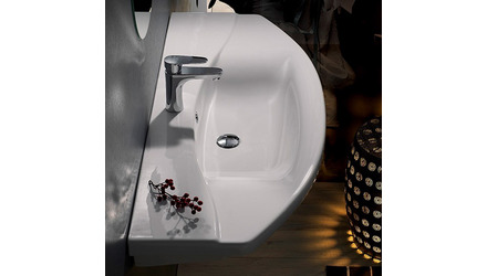 Focus Rectangle Ceramic 55 Inch Sink