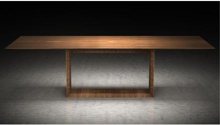 Galice 106 Inch Rectangular Dining Table - Walnut