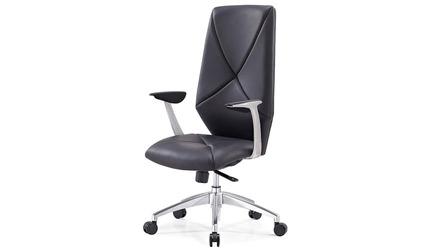 Hearst Black Leather Executive Chair