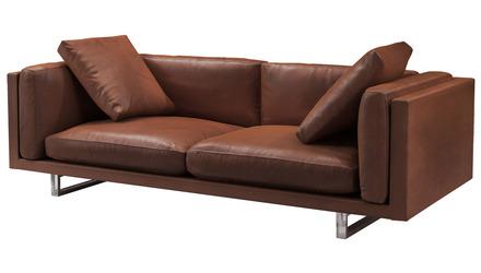 Jacy Leather Sofa
