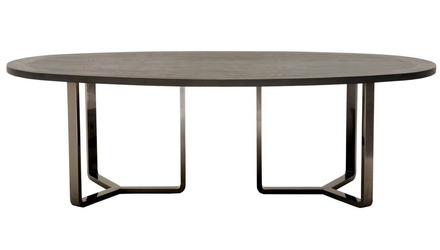 Jaffa 95 Inch Oval Dining Table