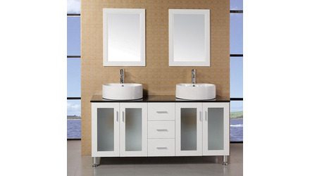 "Maya 60"" Double Sink Vanity Set"