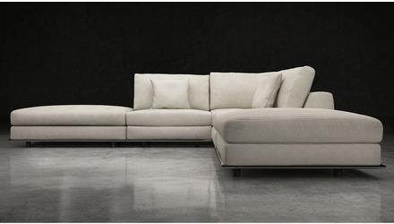 Persis Armless Corner Sectional Sofa