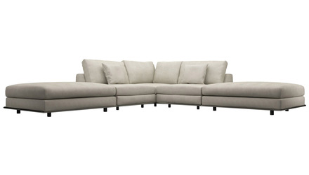 Persis Armless Corner Sectional Sofa