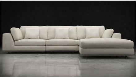 Persis Three Seat Sofa with Ottoman