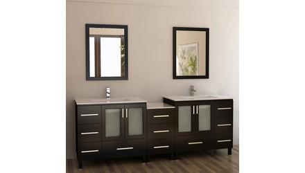 """Rosen 88"""" Double Sink Vanity Set"""