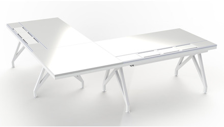 EYHOV RAIL Executive Desk Workstation