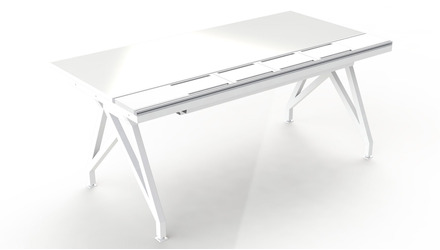 EYHOV RAIL Single Workstation - 72""